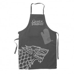 GAME OF THRONES STARK APRON AND OVEN MITT PARANNANZA E GUANTO SD TOYS