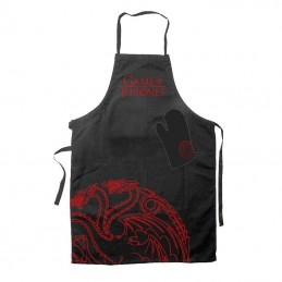 GAME OF THRONES TARGARYEN APRON AND OVEN MITT PARANNANZA E GUANTO SD TOYS