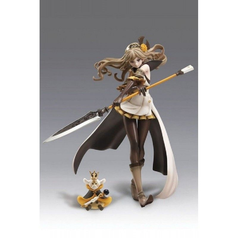 DEAGOSTINI JAPAN TERRA BATTLE SAMATHA THE SPEARMAIDEN STATUE 1/8 SCALE FIGURE