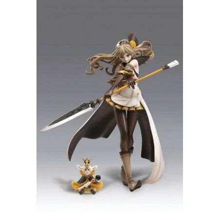 TERRA BATTLE SAMATHA THE SPEARMAIDEN STATUE 1/8 SCALE FIGURE