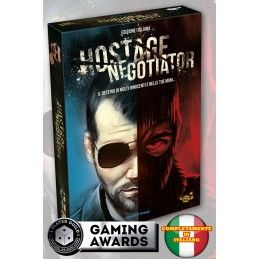 DO NOT PANIC GAMES HOSTAGE NEGOTIATOR - EDIZIONE ITALIANA GIOCO DA TAVOLO ITALIANO
