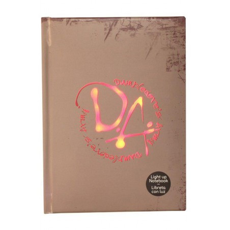 HARRY POTTER DUMBLEDORE ARMY NOTEBOOK W/LIGHT