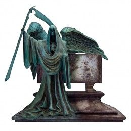 HARRY POTTER RIDDLE FAMILY GRAVE MONOLITH RESIN STATUE FIGURE