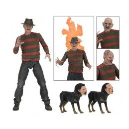 A NIGHTMARE ON ELM STREET - ULTIMATE FREDDY KRUEGER DELUXE ACTION FIGURE NECA