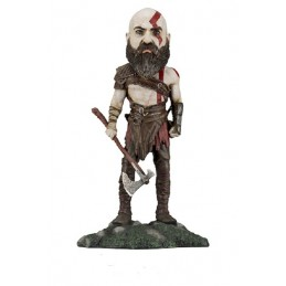 GOD OF WAR - KRATOS 21 CM BOBBLE HEAD KNOCKER FIGURE NECA