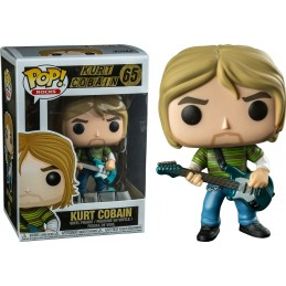 FUNKO POP! NIRVANA - KURT KOBAIN BOBBLE HEAD KNOCKER FIGURE