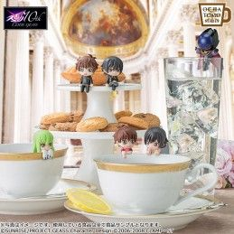 MEGAHOUSE CODE GEASS OCHATOMO SERIES SET ON THE GLASS MINI FIGURE
