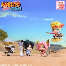 MEGAHOUSE NARUTO PETIT CHARA SAIYUKI SERIES SET MINI FIGURE