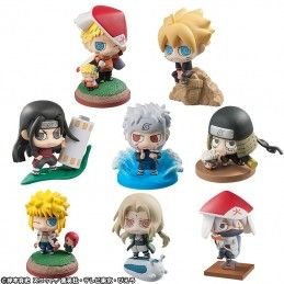 BORUTO NARUTO NEXT GENERATION PETIT CHARA BORUTO AND HOKAGE BOX SET MINI FIGURE MEGAHOUSE