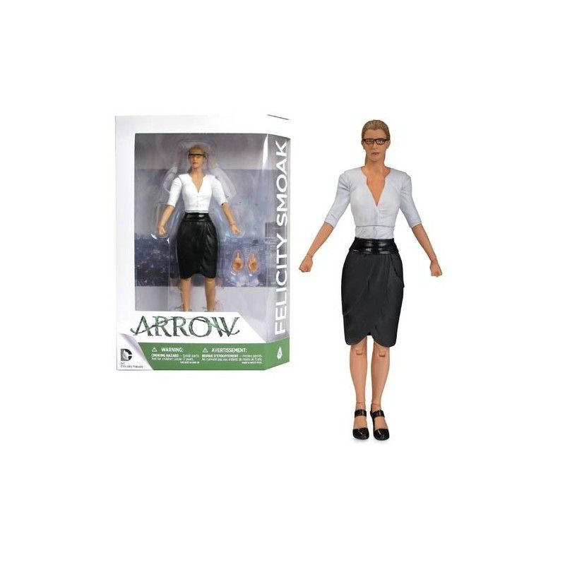 DC COLLECTIBLES DC COMICS ARROW SERIE TV FELICITY SMOAK ACTION FIGURE