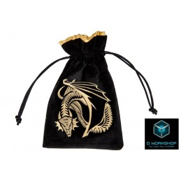 SACCHETTINO PER DADI DRAGON BLACK DICE BAG Q WORKSHOP