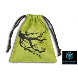 SACCHETTINO PER DADI ENT GREEN DICE BAG Q WORKSHOP