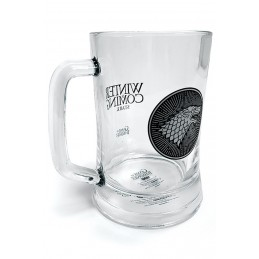GAME OF THRONES STARK GLASS STEINS BICCHIERE DI VETRO