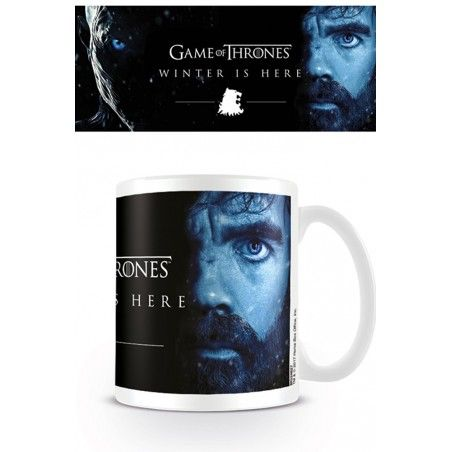 GAME OF THRONES TYRION CERAMIC MUG TAZZA
