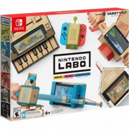 NINTENDO LABO VARIETY MULTI KIT SWITCH NUOVO NINTENDO