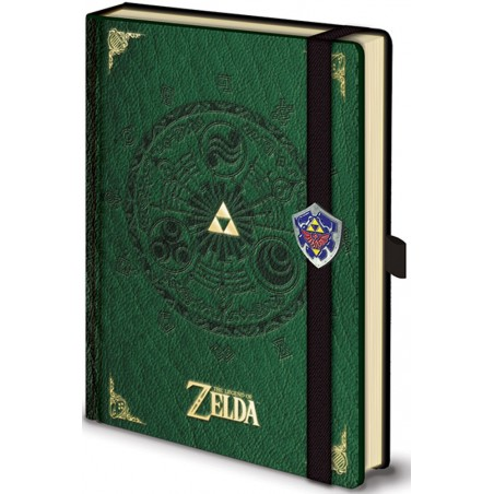 THE LEGEND OF ZELDA PREMIUM NOTEBOOK DIARIO