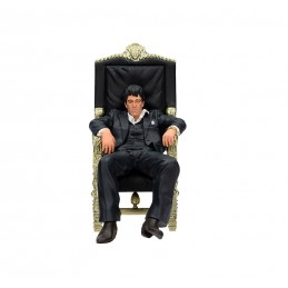 SCARFACE - TONY MONTANA IN HIS CHAIR FIGURE