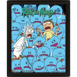 PYRAMID INTERNATIONAL RICK AND MORTY MR. MEESEEKS LENTICULAR 3D POSTER 25X20CM