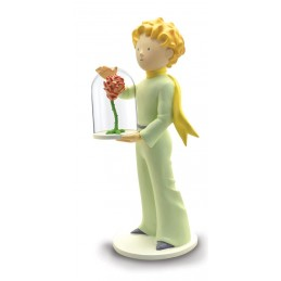 IL PICCOLO PRINCIPE - LITTLE PRINCE AND THE ROSE FIGURE PLASTOY