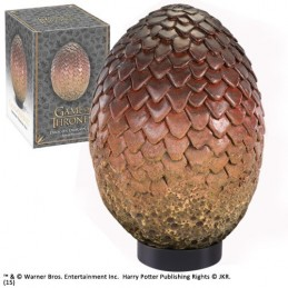 GAME OF THRONES - DROGON DRAGON EGG 20 CM REPLICA NOBLE COLLECTIONS