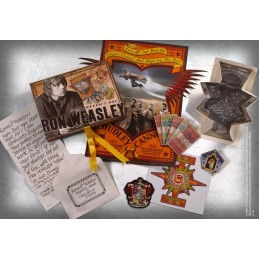 NOBLE COLLECTIONS HARRY POTTER - RON WEASLEY FILM ARTEFACT BOX