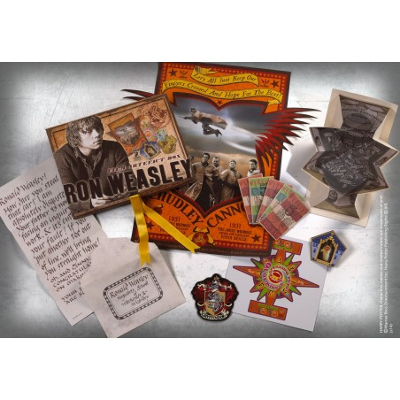 HARRY POTTER - RON WEASLEY FILM ARTEFACT BOX
