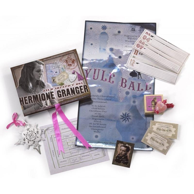 HARRY POTTER - HERMIONE GRANGER FILM ARTEFACT BOX NOBLE COLLECTION