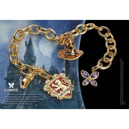 HARRY POTTER - GRYFFINDOR BRACCIALETTO IN METALLO NOBLE COLLECTION