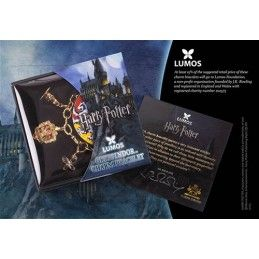 HARRY POTTER - GRYFFINDOR BRACCIALETTO IN METALLO NOBLE COLLECTIONS