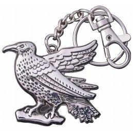NOBLE COLLECTIONS HARRY POTTER - RAVENCLAW CORVONERO METAL KEYCHAIN PORTACHIAVI KEYRING