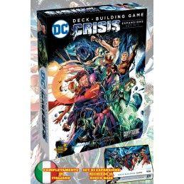 DC COMICS DECK-BUILDING GAME - CRISIS SET ESPANSIONE 1 ITALIANO GIOCO DA TAVOLO