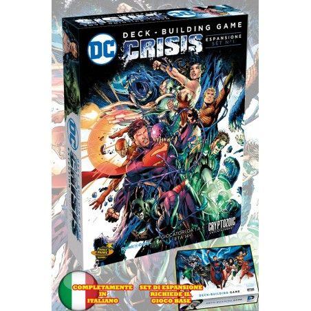 DC COMICS DECK-BUILDING GAME - CRISIS SET ESPANSIONE 1 ITALIANO