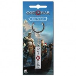GOD OF WAR LOGO METAL KEYCHAIN PORTACHIAVI KEYRING