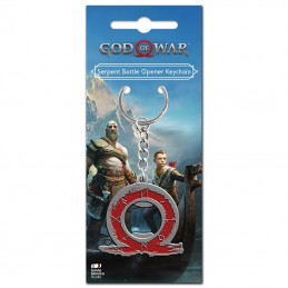 GOD OF WAR SERPENT BOTTLE OPENER METAL KEYCHAIN PORTACHIAVI APRIBOTTIGLIE KEYRING