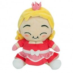 FAT PRINCESS - PINK PRINCESS PUPAZZO PELUCHE 20CM PLUSH FIGURE