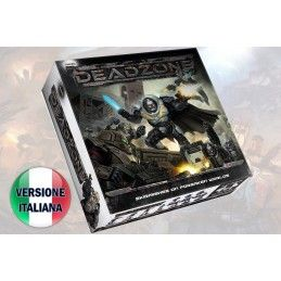 DEADZONE 2ND ED. STARTER SET GIOCO DA TAVOLO ITALIANO MANTIC