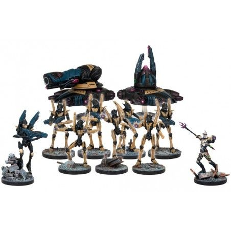 DEADZONE ASTERIAN FACTION STARTER SET MINIATURE GIOCO DA TAVOLO