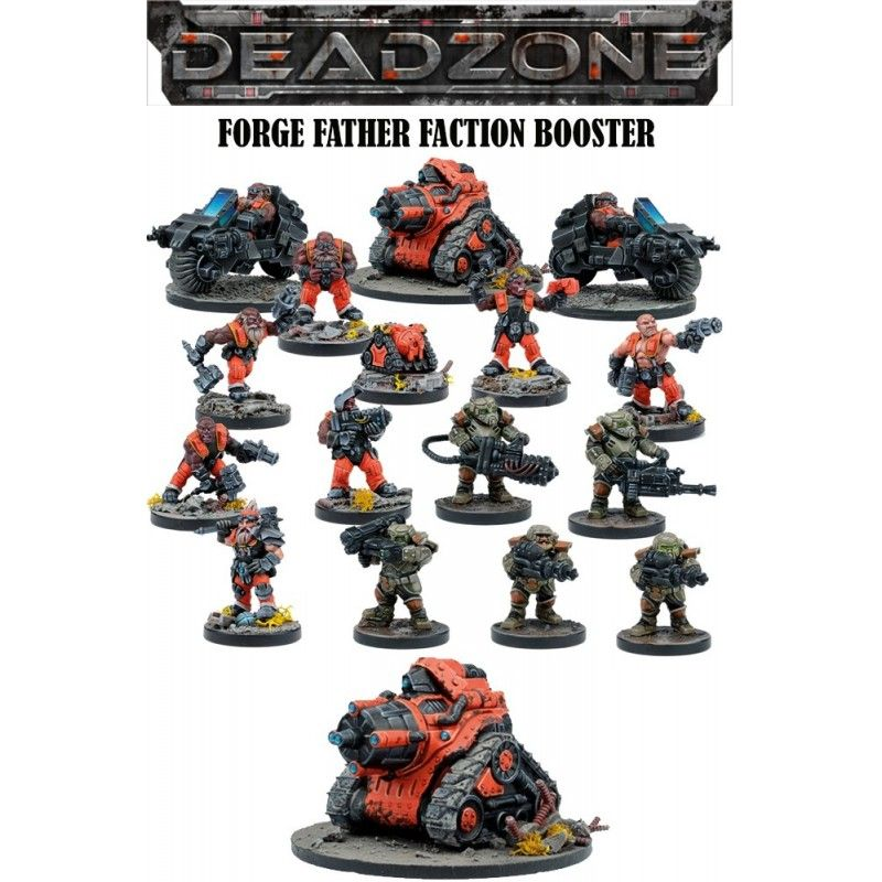 MANTIC DEADZONE FORGE FATHER FACTION BOOSTER MINIATURE GIOCO DA TAVOLO