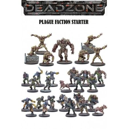 DEADZONE PLAGUE FACTION STARTER MINIATURE GIOCO DA TAVOLO