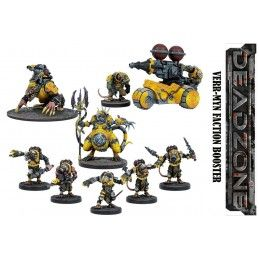 DEADZONE VERR-MYR FACTION BOOSTER SET MINIATURE GIOCO DA TAVOLO MANTIC