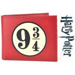 HALF MOON BAY HARRY POTTER PLATFORM 9 3/4 WALLET PORTAFOGLIO