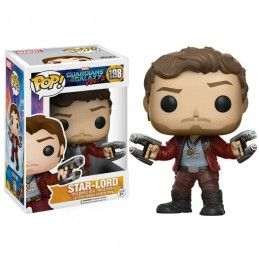 FUNKO POP! GUARDIANS OF THE GALAXY 2 STAR-LORD BOBBLE HEAD KNOCKER FIGURE