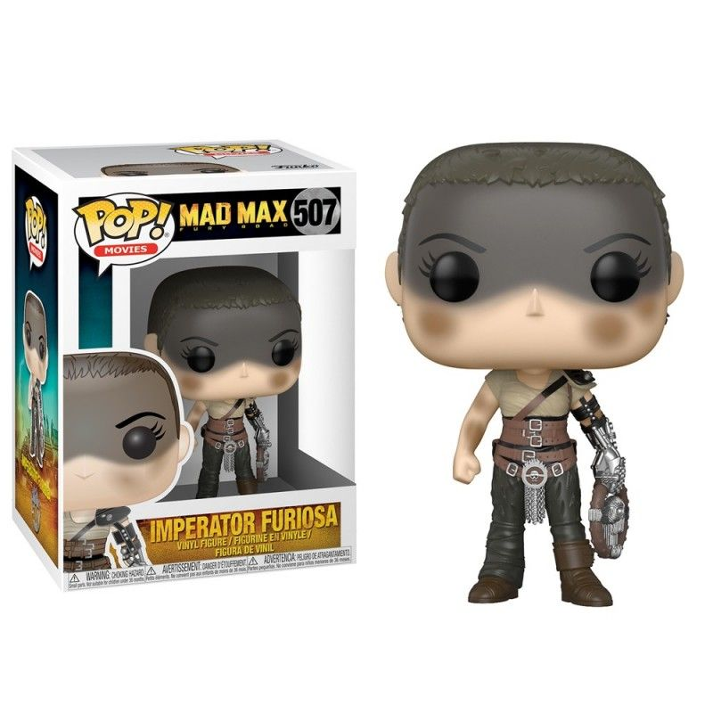 FUNKO FUNKO POP! MAD MAX FURY ROAD - IMPERATOR FURIOSA BOBBLE HEAD KNOCKER FIGURE