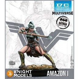KNIGHT MODELS BATMAN MINIATURE GAME - AMAZONS OF THEMYSCIRA MINI RESIN STATUE FIGURE