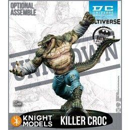 KNIGHT MODELS BATMAN MINIATURE GAME - KILLER CROC MINI RESIN STATUE FIGURE