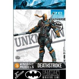 BATMAN MINIATURE GAME - DEATHSTROKE MINI RESIN STATUE FIGURE KNIGHT MODELS