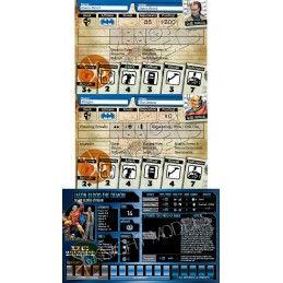 BATMAN MINIATURE GAME - JASON BLOOD AND DEMON MINI RESIN STATUE FIGURE KNIGHT MODELS