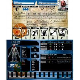 BATMAN MINIATURE GAME - RED HOOD MINI RESIN STATUE FIGURE KNIGHT MODELS