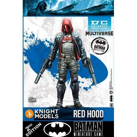 BATMAN MINIATURE GAME - RED HOOD MINI RESIN STATUE FIGURE