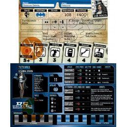BATMAN MINIATURE GAME - ZATANNA MINI RESIN STATUE FIGURE KNIGHT MODELS